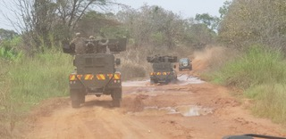 Road conditions between Kaya and Yei 16-01-19