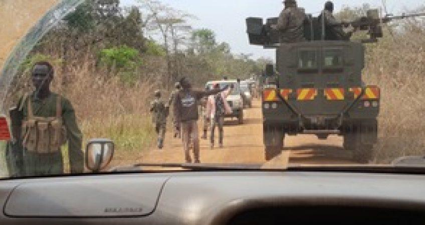 Road conditions between Kaya and Yei 16-01-19
